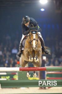 Eric Lamaze and Coriana van Klapscheut finished second in the Rolex Top 10 Final held Friday, December 2, at the Paris Gucci Masters in Paris, France. Photo by Kit Houghton