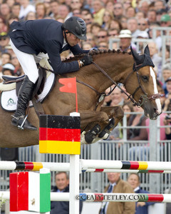 Eric Lamaze and Coriana van Klapscheut won the €23,000 1.50m speed competition held Friday, August 26, in Rotterdam, The Netherlands. Photo by Cealy Tetley