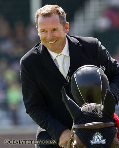2008 Canadian Olympic Champion Eric Lamaze will take a break from the competitive arena for the remainder of the year. Photo by Cealy Tetley