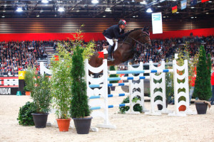 Olympic Champions Eric Lamaze and Hickstead won the €120,000 Equita Masters by GPA at CSI5*-W Lyon, France, on Saturday, October 31. Photo by Equita'Lyon PSV