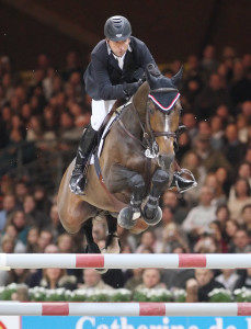 Olympic Champion Eric Lamaze and Hickstead placed fourth in the Rolex Top 10 Final held as part of the CSI5* Brussels Horse Show in Belgium. Photo by Cealy Tetley