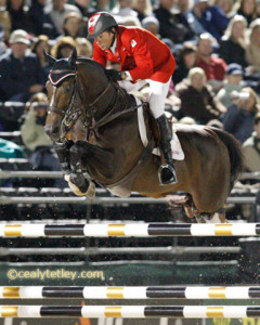 Olympic Champions Eric Lamaze of Schomberg, ON, and Hickstead led the Canadian Show Jumping Team to a fifth place finish at the 2010 FEI Alltech World Equestrian Games in Lexington, KY. They are currently ranked fourth individually. Photo by Cealy Tetley