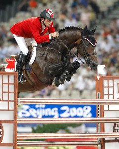 Hickstead, the Olympic Champion horse under Canada's Eric Lamaze, is now available for breeding in North America. Photo Credit - Cealy Tetley