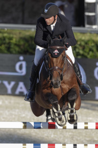Eric Lamaze produced double clear rounds riding Powerplay to lead Canada to a sixth place finish in the inaugural €1,500,000 Furusiyya FEI Nations' Cup Final on September 29 at CSIO5* Barcelona, Spain. Photo by Nacho Olano, www.nachoolano.com