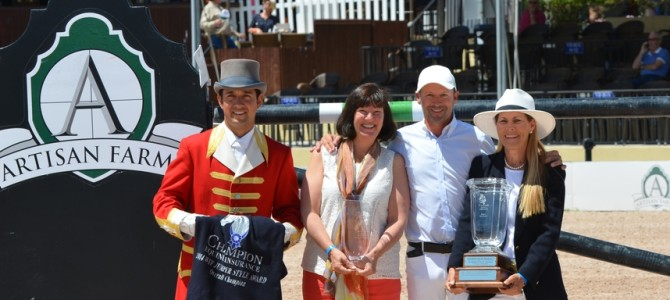 Eric Lamaze and Artisan Farms' Zigali P S Honored at 2014 WEF