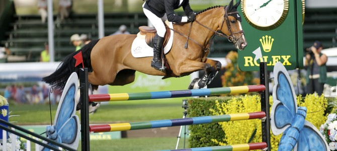 """Eric Lamaze Opens Spruce Meadows """"Masters"""" with a Win"""