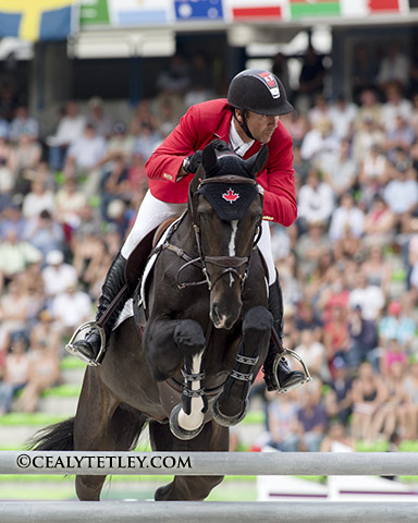 Eric Lamaze and Zigali P S, owned by Artisan Farms LLC, finished 31st in the individual standings..