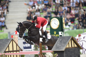 Eric Lamaze and Zigali P S Photo by Kit Houghton/Rolex